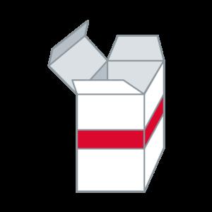 Schachteln mit Steckverschluss